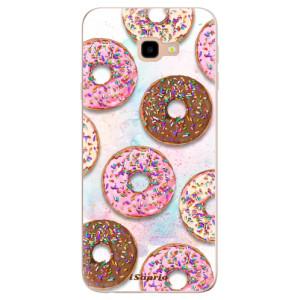 Silikonové odolné pouzdro iSaprio Donuts 11 na mobil Samsung Galaxy J4 Plus