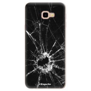 Silikonové odolné pouzdro iSaprio Broken Glass 10 na mobil Samsung Galaxy J4 Plus