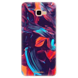 Silikonové odolné pouzdro iSaprio Color Marble 19 na mobil Samsung Galaxy J4 Plus