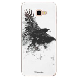 Silikonové odolné pouzdro iSaprio Dark Bird 01 na mobil Samsung Galaxy J4 Plus
