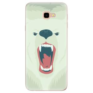 Silikonové odolné pouzdro iSaprio Angry Bear na mobil Samsung Galaxy J4 Plus