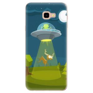 Silikonové odolné pouzdro iSaprio Alien 01 na mobil Samsung Galaxy J4 Plus