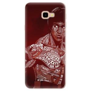 Silikonové odolné pouzdro iSaprio Bruce Lee na mobil Samsung Galaxy J4 Plus