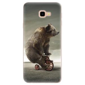 Silikonové odolné pouzdro iSaprio Bear 01 na mobil Samsung Galaxy J4 Plus