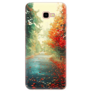 Silikonové odolné pouzdro iSaprio Autumn 03 na mobil Samsung Galaxy J4 Plus