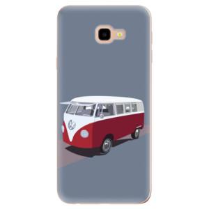 Silikonové odolné pouzdro iSaprio VW Bus na mobil Samsung Galaxy J4 Plus