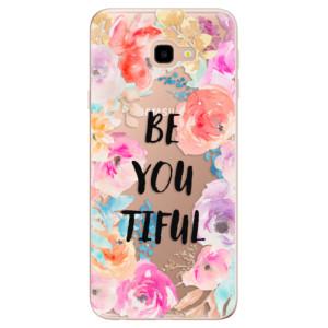 Silikonové odolné pouzdro iSaprio BeYouTiful na mobil Samsung Galaxy J4 Plus