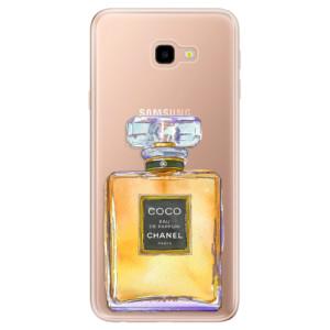 Silikonové odolné pouzdro iSaprio Chanel Gold na mobil Samsung Galaxy J4 Plus