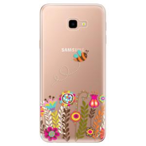 Silikonové odolné pouzdro iSaprio Bee 01 na mobil Samsung Galaxy J4 Plus