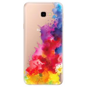 Silikonové odolné pouzdro iSaprio Color Splash 01 na mobil Samsung Galaxy J4 Plus