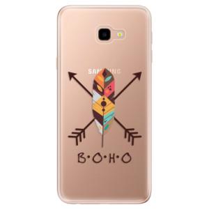Silikonové odolné pouzdro iSaprio BOHO na mobil Samsung Galaxy J4 Plus