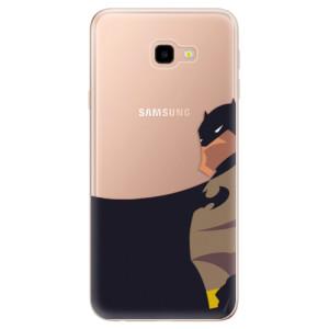 Silikonové odolné pouzdro iSaprio BaT Comics na mobil Samsung Galaxy J4 Plus