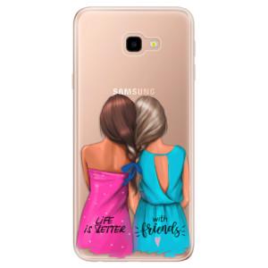 Silikonové odolné pouzdro iSaprio Best Friends na mobil Samsung Galaxy J4 Plus