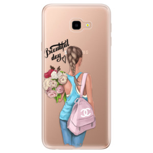 Silikonové odolné pouzdro iSaprio Beautiful Day na mobil Samsung Galaxy J4 Plus