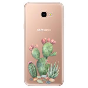 Silikonové odolné pouzdro iSaprio Cacti 01 na mobil Samsung Galaxy J4 Plus