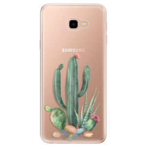 Silikonové odolné pouzdro iSaprio Cacti 02 na mobil Samsung Galaxy J4 Plus