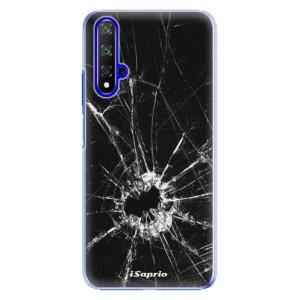 Plastové pouzdro iSaprio Broken Glass 10 na mobil Honor 20