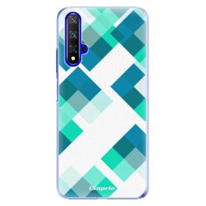 Plastové pouzdro iSaprio Abstract Squares 11 na mobil Honor 20