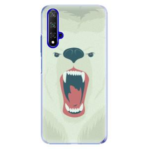 Plastové pouzdro iSaprio Angry Bear na mobil Honor 20