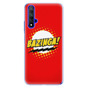Plastové pouzdro iSaprio Bazinga 01 na mobil Honor 20