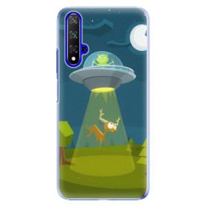 Plastové pouzdro iSaprio Alien 01 na mobil Honor 20