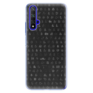 Plastové pouzdro iSaprio Ampersand 01 na mobil Honor 20