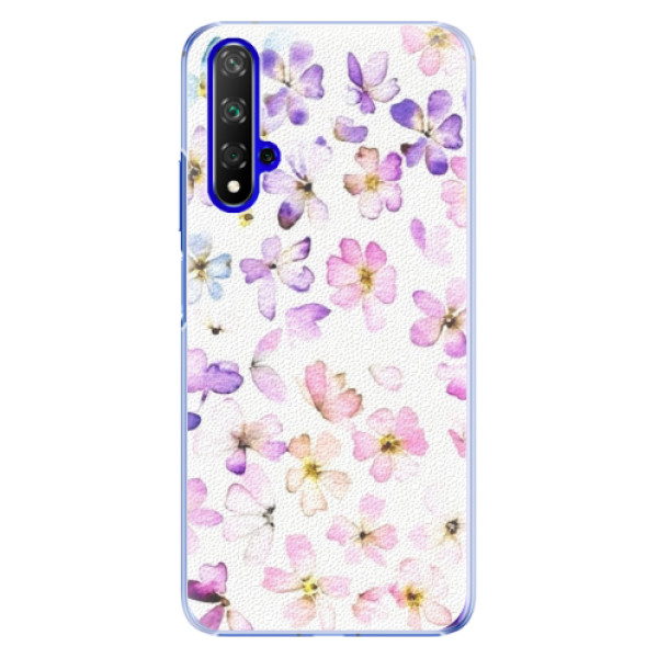 Plastové pouzdro iSaprio Wildflowers na mobil Honor 20 (Plastový obal, kryt, pouzdro iSaprio Wildflowers na mobil Huawei Honor 20)