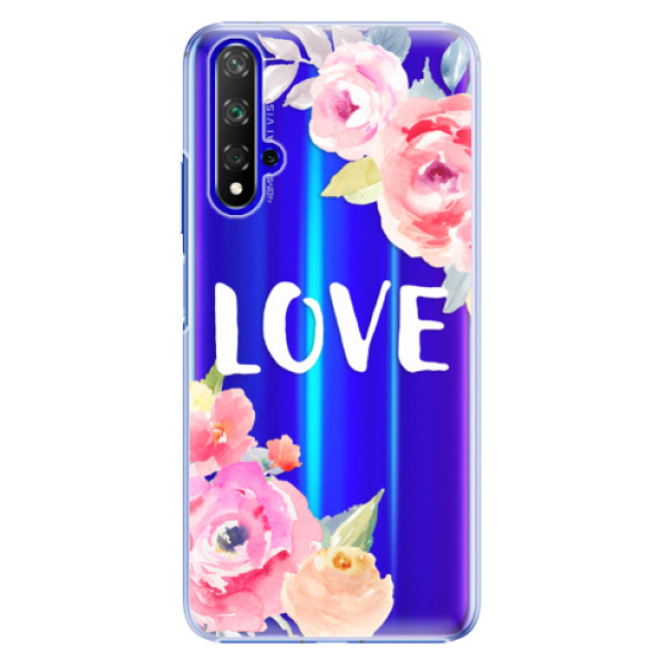 Plastové pouzdro iSaprio Love na mobil Honor 20 (Plastový obal, kryt, pouzdro iSaprio Love na mobil Huawei Honor 20)