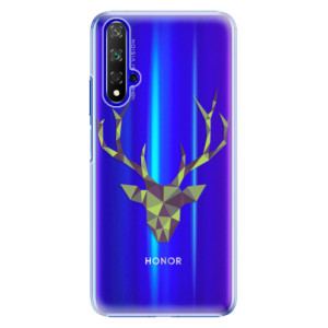 Plastové pouzdro iSaprio Deer Green na mobil Honor 20