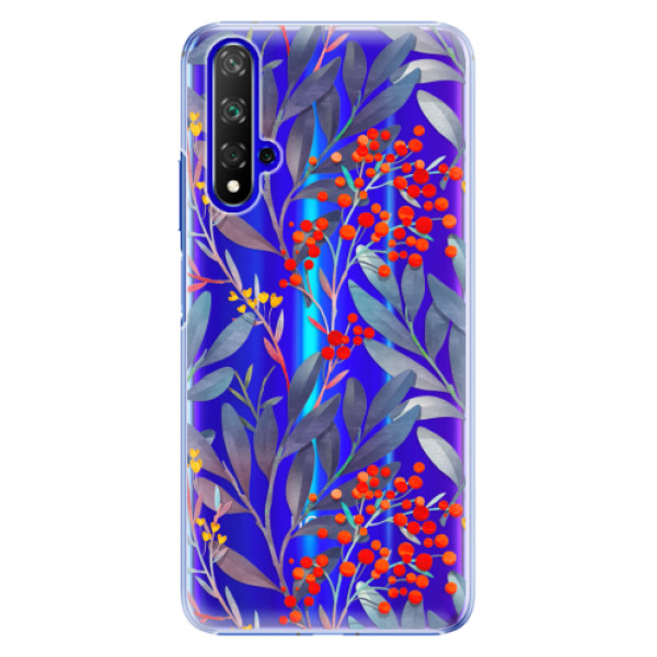 Plastové pouzdro iSaprio Rowanberry na mobil Honor 20 (Plastový obal, kryt, pouzdro iSaprio Rowanberry na mobil Huawei Honor 20)