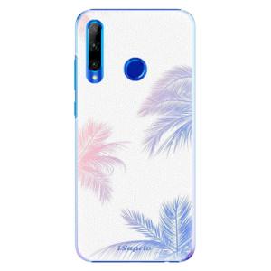 Plastové pouzdro iSaprio Digital Palms 10 na mobil Honor 20 Lite