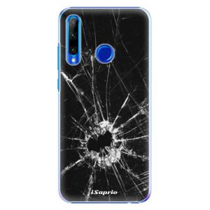 Plastové pouzdro iSaprio Broken Glass 10 na mobil Honor 20 Lite