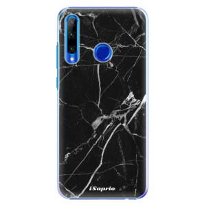 Plastové pouzdro iSaprio Black Marble 18 na mobil Honor 20 Lite