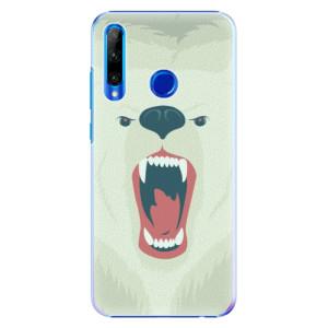 Plastové pouzdro iSaprio Angry Bear na mobil Honor 20 Lite