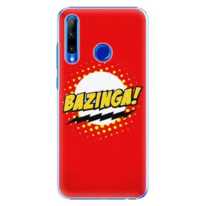 Plastové pouzdro iSaprio Bazinga 01 na mobil Honor 20 Lite