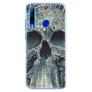 Plastové pouzdro iSaprio Abstract Skull na mobil Honor 20 Lite