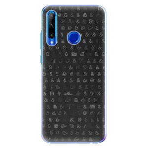 Plastové pouzdro iSaprio Ampersand 01 na mobil Honor 20 Lite