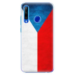 Plastové pouzdro iSaprio Czech Flag na mobil Honor 20 Lite