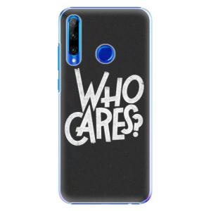 Plastové pouzdro iSaprio Who Cares na mobil Honor 20 Lite