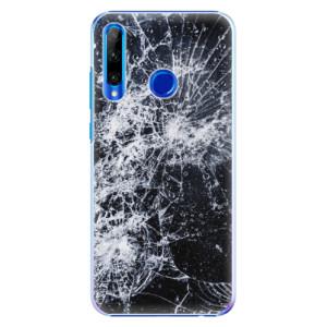 Plastové pouzdro iSaprio Cracked na mobil Honor 20 Lite