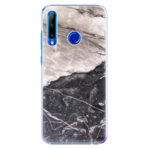 Plastové pouzdro iSaprio BW Marble na mobil Honor 20 Lite