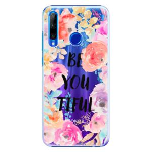 Plastové pouzdro iSaprio BeYouTiful na mobil Honor 20 Lite