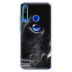 Plastové pouzdro iSaprio Black Puma na mobil Honor 20 Lite