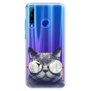 Plastové pouzdro iSaprio Crazy Cat 01 na mobil Honor 20 Lite - poslední kus za tuto cenu