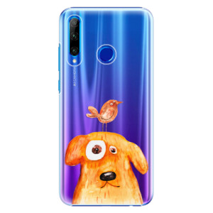 Plastové pouzdro iSaprio Dog And Bird na mobil Honor 20 Lite