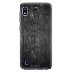 Plastové pouzdro iSaprio Black Wood 13 na mobil Samsung Galaxy A10