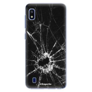 Plastové pouzdro iSaprio Broken Glass 10 na mobil Samsung Galaxy A10