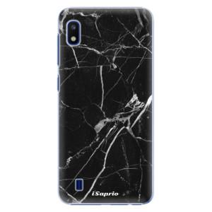 Plastové pouzdro iSaprio Black Marble 18 na mobil Samsung Galaxy A10