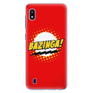 Plastové pouzdro iSaprio Bazinga 01 na mobil Samsung Galaxy A10