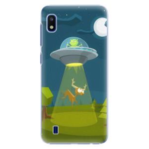 Plastové pouzdro iSaprio Alien 01 na mobil Samsung Galaxy A10
